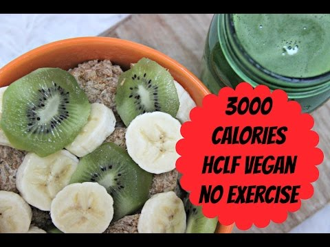 What I Eat In A Day | HCLF Vegan | 3,000 Calories, No Exercise, No Restriction | Day 30 of 30