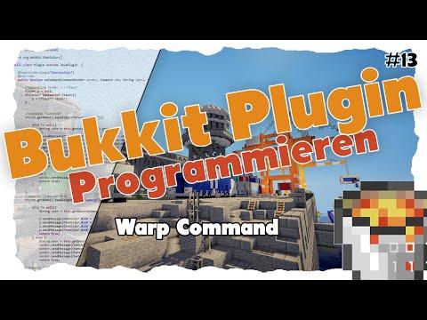 Warp-Command | Spigot/Bukkit Plugin Programmieren