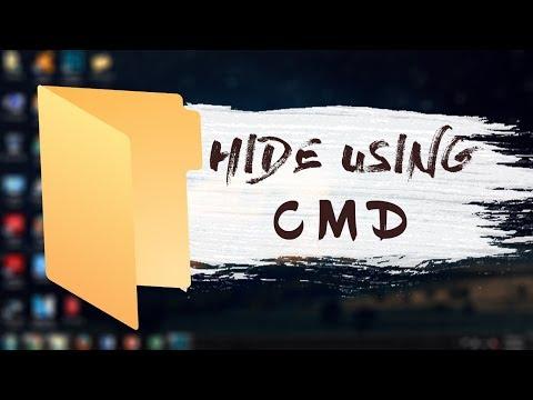 Hide & Unhide Folder using CMD