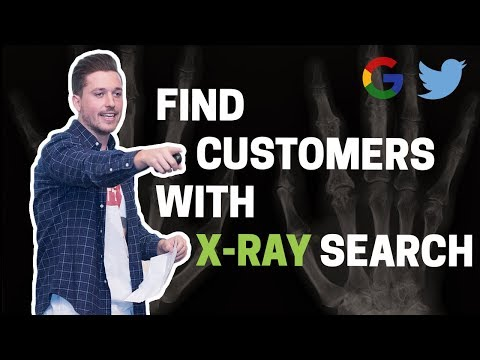 How to find customers on Twitter using Google x-ray search