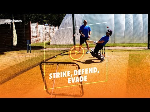 Cricket Batting Training | Strike, Defend, Evade with Tammy Beaumont