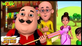 Motu Patlu Cartoons In Hindi |  Animated Series | Patakhey ki dukan | Wow Kidz