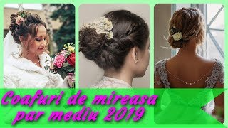 Coafuri Par Mediu 2019 Nunta Videos 9tubetv