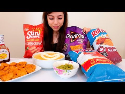 CHIPS AND QUESO MUKBANG