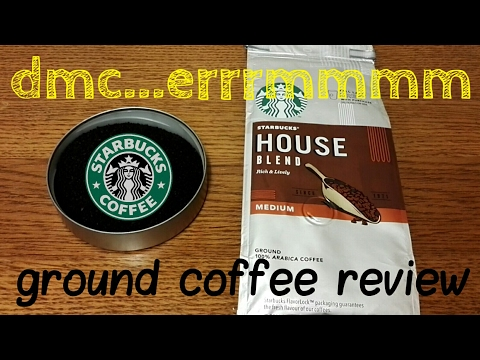 Starbucks House Blend Ground Coffee Review/Revisit.