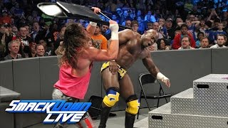 Apollo Crews vs. Dolph Ziggler - Chairs Match: SmackDown LIVE: Feb. 28, 2017