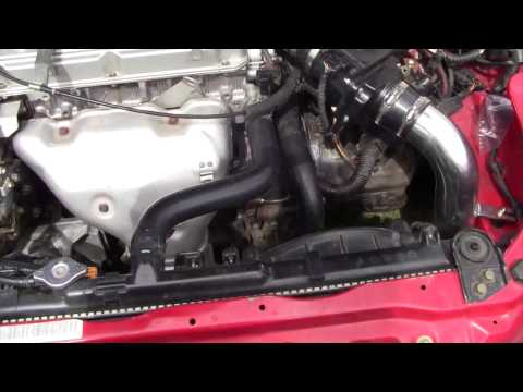 How to Replace The Slave Cylinder 2002 Mitsubishi Eclipse RS