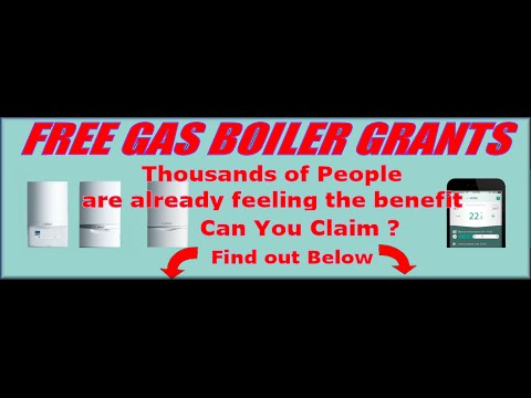 How to Apply for free gas boilers government grants