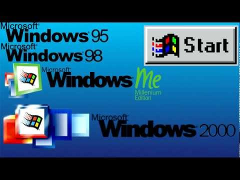 Windows Start Button History and Windows 8