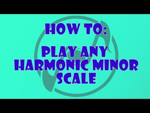 How to Play the Harmonic Minor Scale on the Piano - Learn How to Play Piano