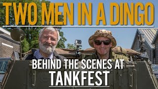 Two Men in a Dingo | Chris Barrie | The Tank Museum