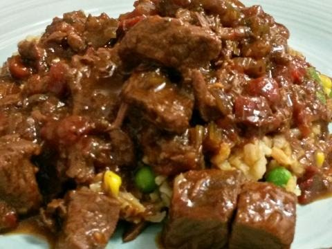 Stove  Top   BBQ   Beef  Cubes