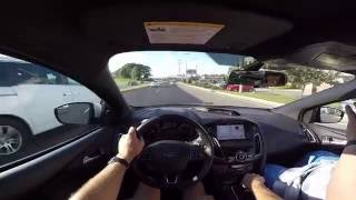 Driving a Ford Focus RS for the first time