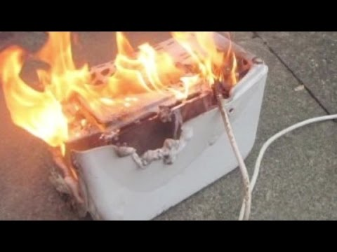 How NOT to grill cheese