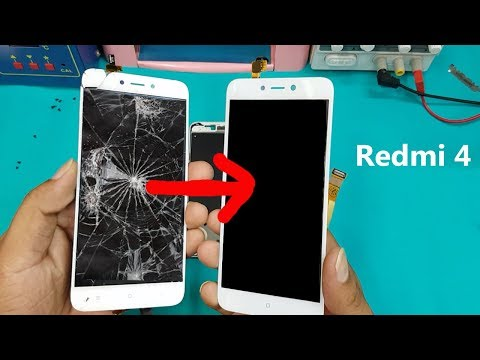 Xiaomi Redmi 4 LCD Screen +Touch Screen Digitizer Replacement || Redmi 4 Display Replacement