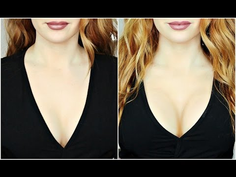 How To Make Your Boobs Look Larger! Tips & Tricks