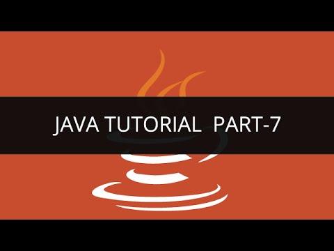Java Tutorial - 7 | Edureka