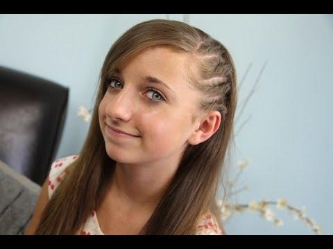 Side Flat Twists   Back-to-School   Cute Girls Hairstyles