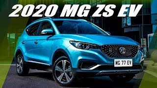 2020 MG ZS EV - Most High-tech MG's Crossover