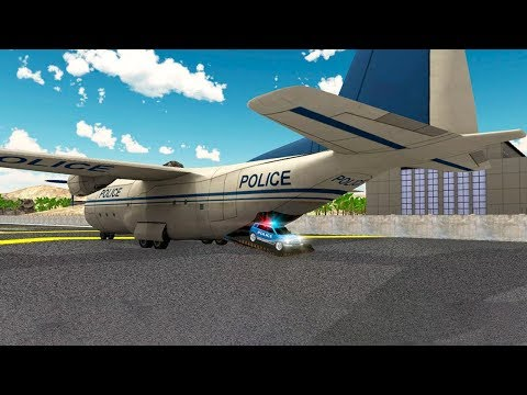 Police Plane Flight Simulator (by Life Sim Studios) Android Gameplay [HD]