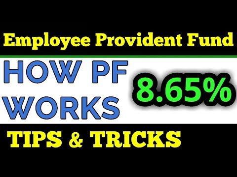 How PF works | Examples | Interest Rate | Provident Fund Balance | FinCalC TV