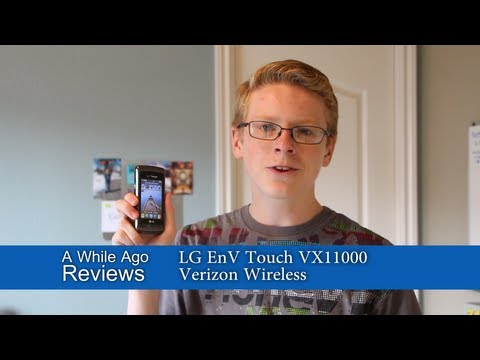 Sarcastic Review: EnV Touch (Verizon Wireless)
