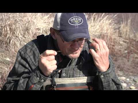 How to rig your fly rod to fish nymphs.