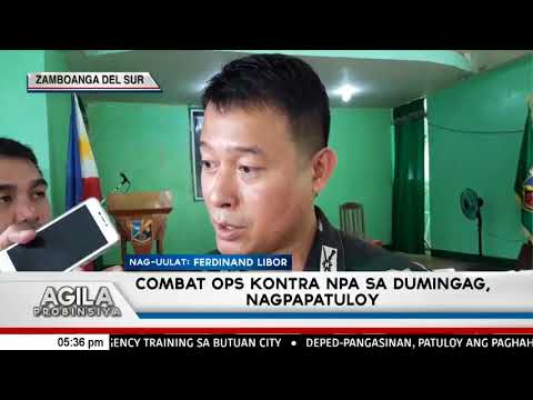 Combat Operation kontra NPA sa Dumingag, Zamboanga del Sur nagpapatuloy