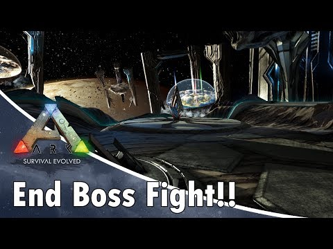 ARK: Survival Evolved The End Game Boss Fight!!