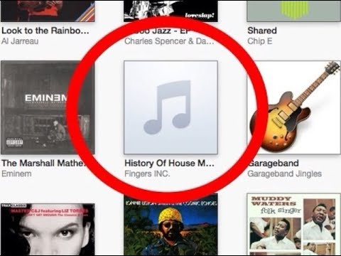 How-To add Album Art - iTunes (2018 Update)  - ANY ITUNES UPDATE