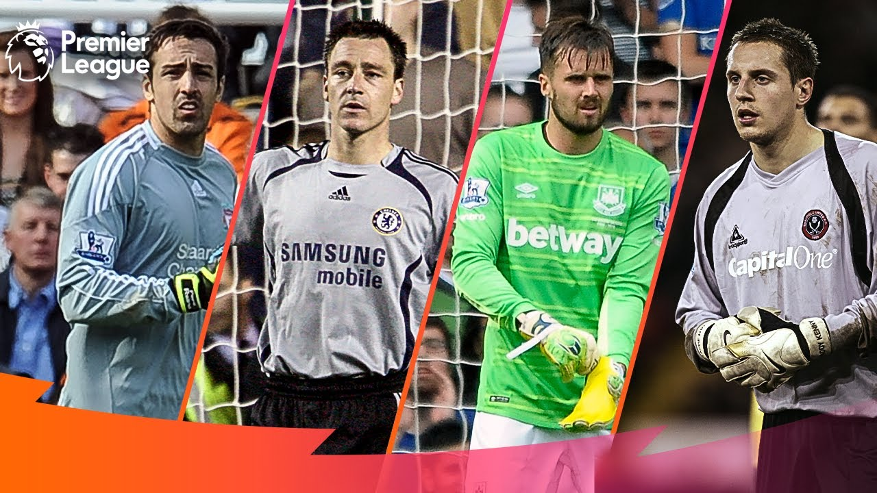 When Outfield Players Go In Goal   Premier League Edition