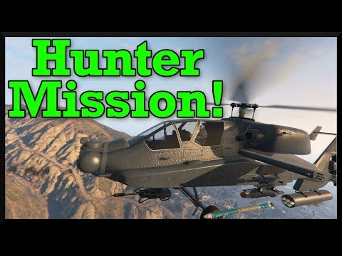 GTA Online Hunter Gameplay! How To Use The Hunter Right Now & Prepare For Release (Smuggler's Run)