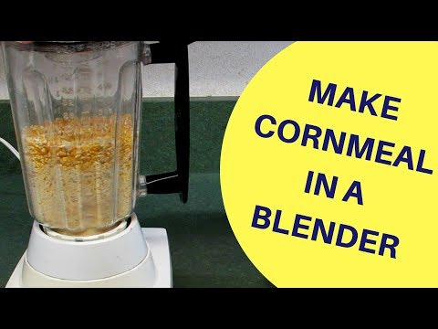 How To Make Cornmeal in a Blender for Homemade Suet