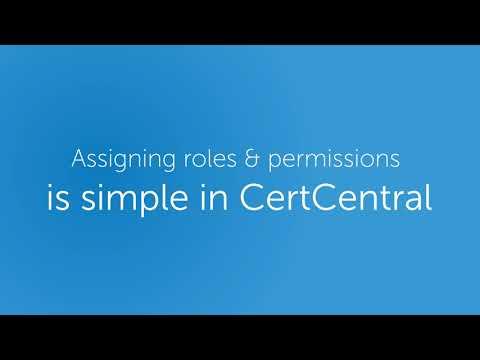 DigiCert CertCentral