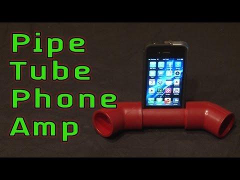 Pipe Tube Phone Amp!