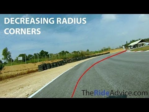 How to Handle Decreasing Radius Corners - Decreasing Radius Turn