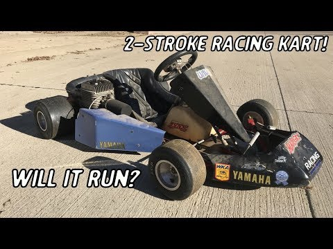 2-Stroke Racing Go Kart Find!