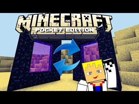 Como criar e sincronizar portais do Nether no Minecraft Pocket Edition 0.12.1