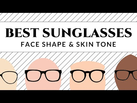 Best Sunglasses for Your Face Shape & Skin Tone