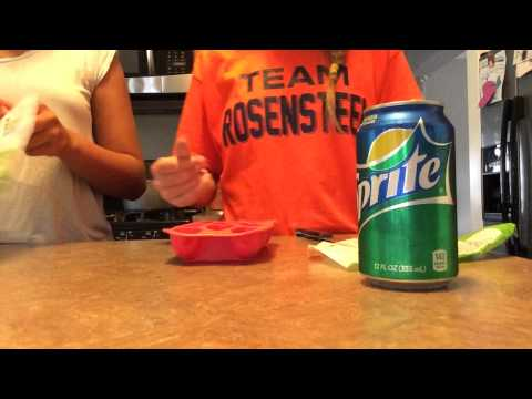DIY: Gummy Ice Cubes