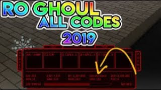 Roblox Ro Ghoul Codes June 2018 | Rxgate cf To Redeem Code