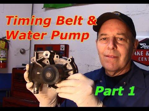 Subaru 2.5 SOHC Timing Belt & Water Pump replacement- Part I