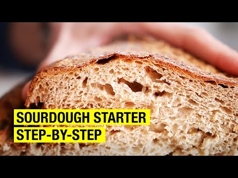 A Frenchman's Guide to Making Sourdough Starter
