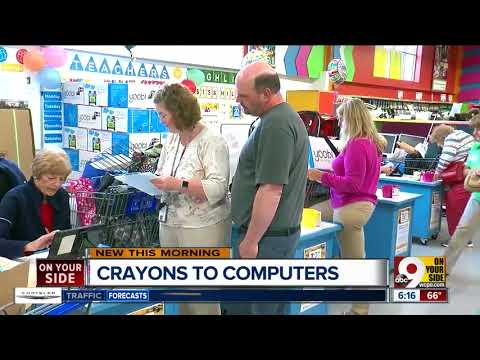 Crayons to Computers gives teachers the supplies their low-income students need