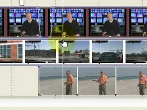 Multi video track editing in Sony Vegas & Movie Studio