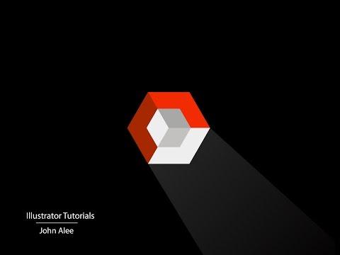 Illustrator Tutorials, 3D Cube