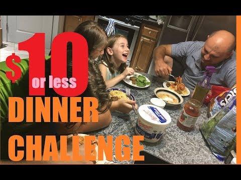 $10 Dinner Challenge Collab