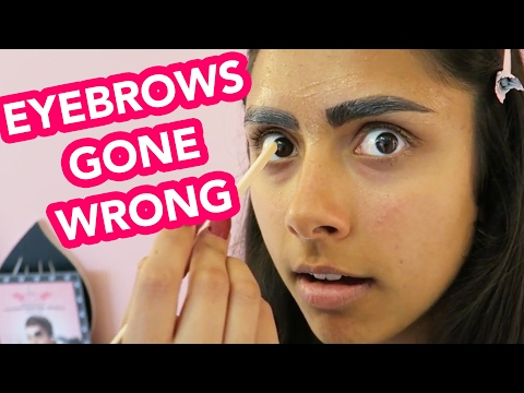 I Got A $44 Eyebrow Tint Transformation | Michelle Khare
