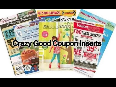 Crazy Good Coupon Inserts for 1/1/2017!! 5 Inserts~ Extreme Couponing!