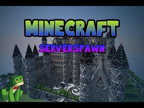 Minecraft build: server spawn (cinematic)